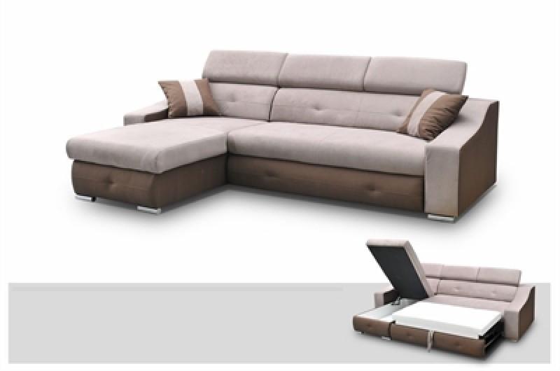 Smart Gode online-tilbud på sovesofa med chaiselong til tv-hygge eller EA36