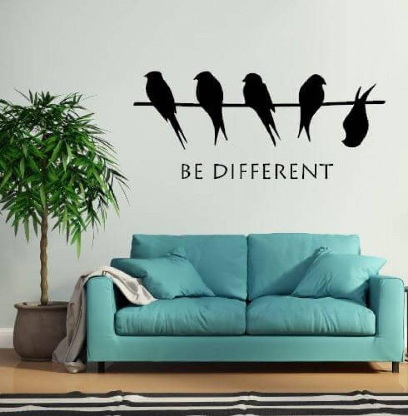 Pynt dine vægge med flotte, sjove og tankevækkende wallstickers til favorable priser